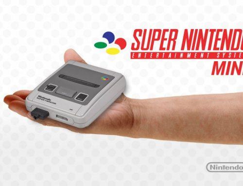 Nintendo revient avec la Super Nintendo Mini